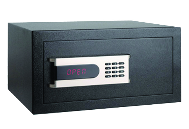 Hotel safe box with electronic safe lock