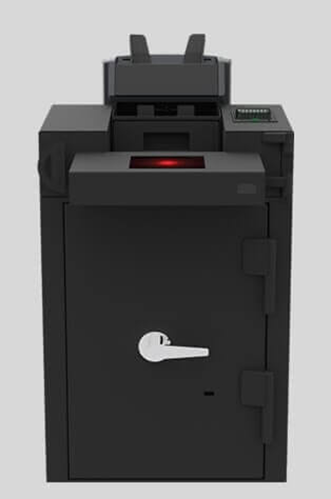 black machine used for cash automation solution